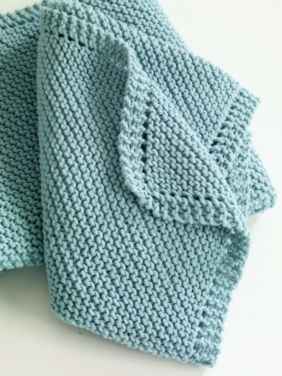 Quick Easy Baby Blanket Knitting Pattern : Serenity Knits