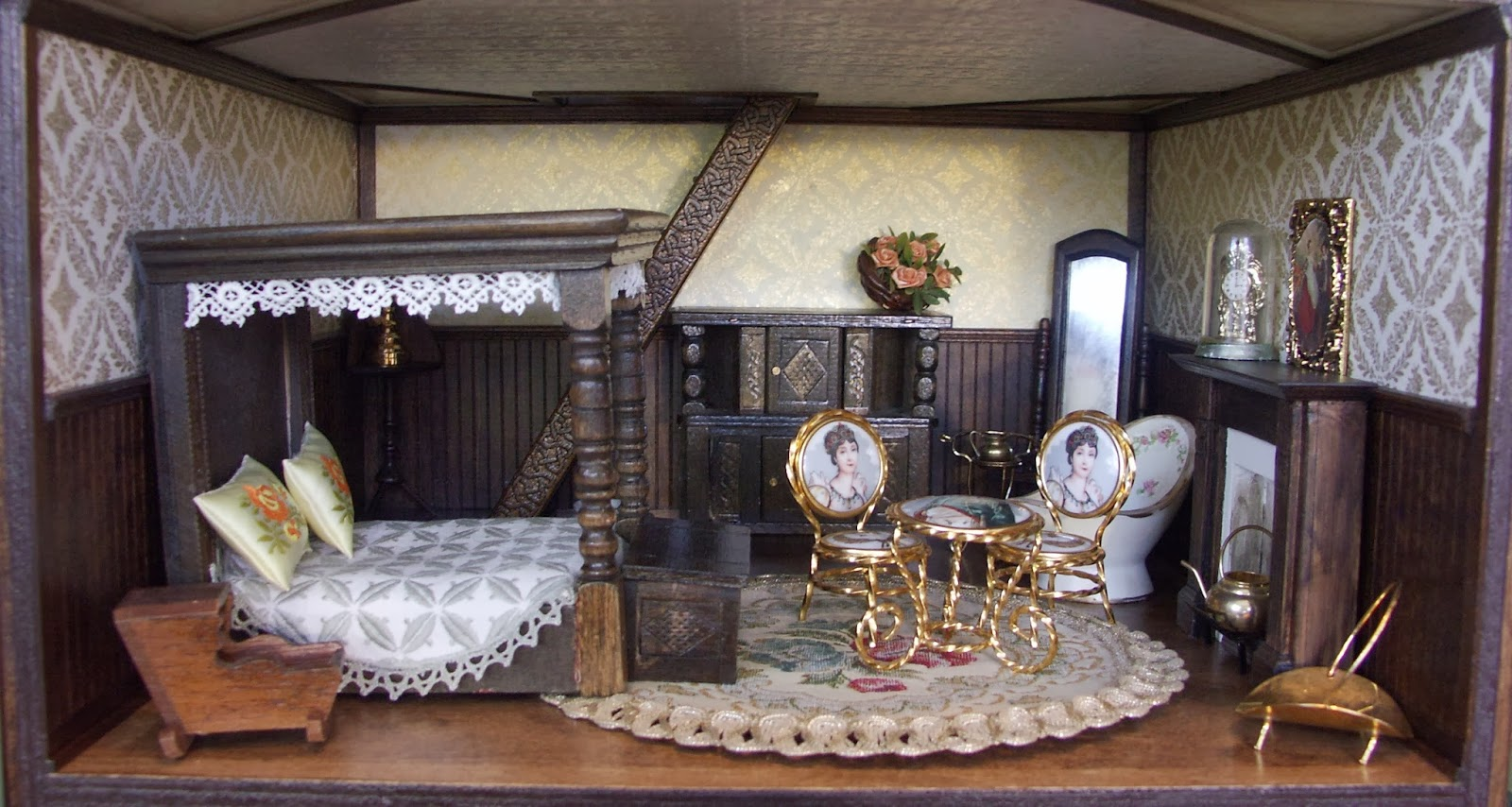 Happy Little Worlds Retrofit The Kit Tudor Dollhouse