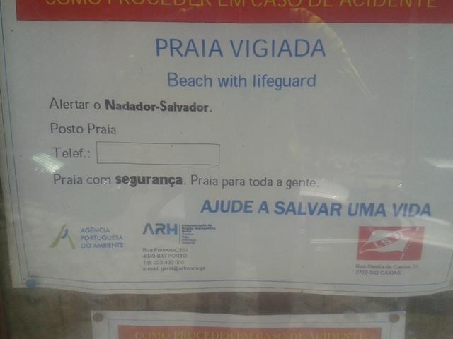Praia Vigiada