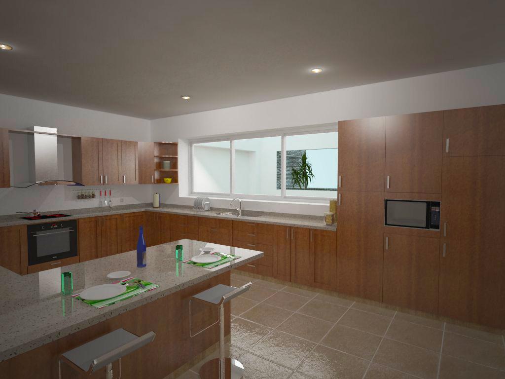 Alexandra proa o 3d arquitectura v cocinas for Cocina definicion arquitectura