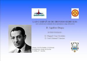 Acto Homenaje a Dionisio Ridruejo
