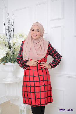 BLOUSE MUSLIMAH - RED