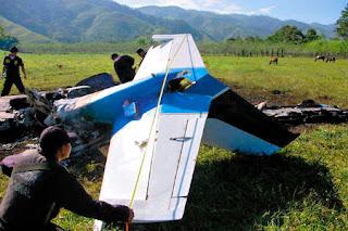 Narco plane, Honduras