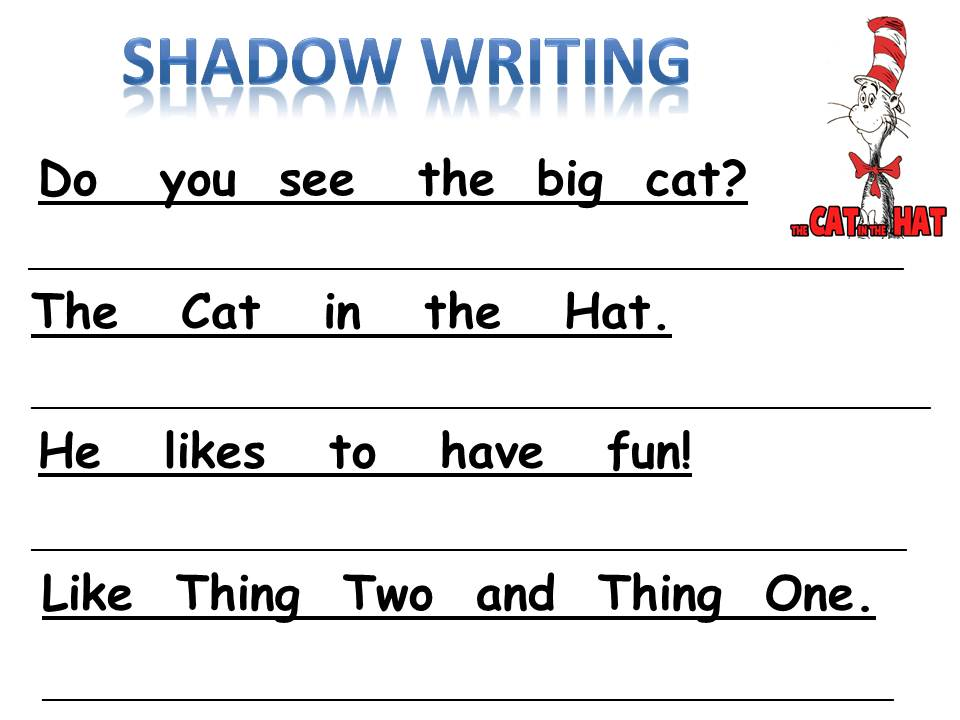 Writing homework for kindergarten – Writing Worksheets for Kindergarten