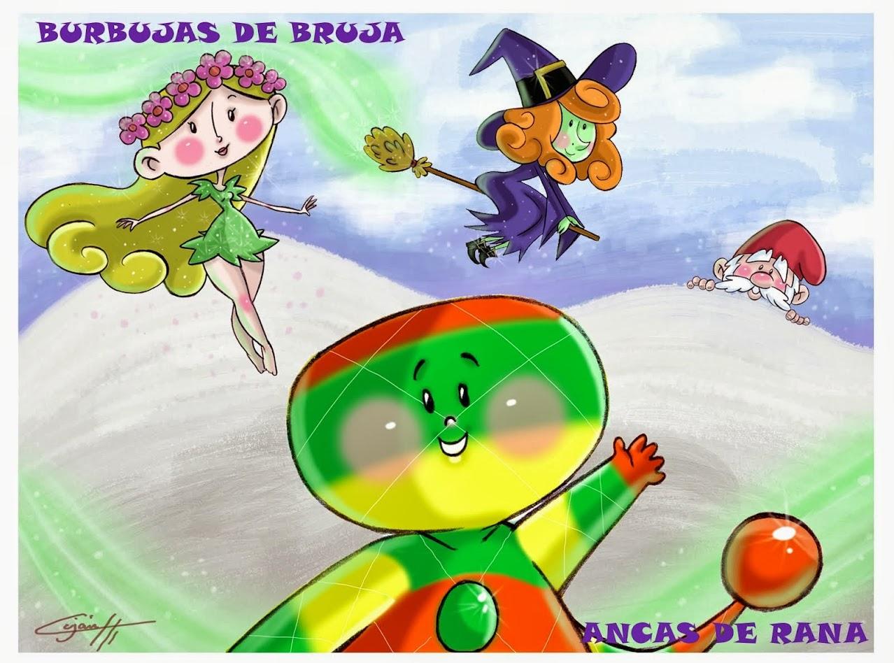 BURBUJAS DE BRUJA