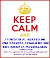 Sorteo Tarjeta Regalo 50€ en Maquillalia