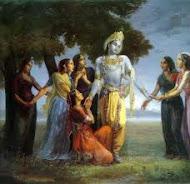 """Krishna y sus Gopis"""