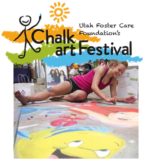 Gateway Chalk Art Festival Utah