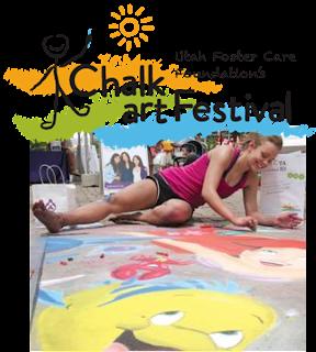 Gateway Chalk Art Festival Utah