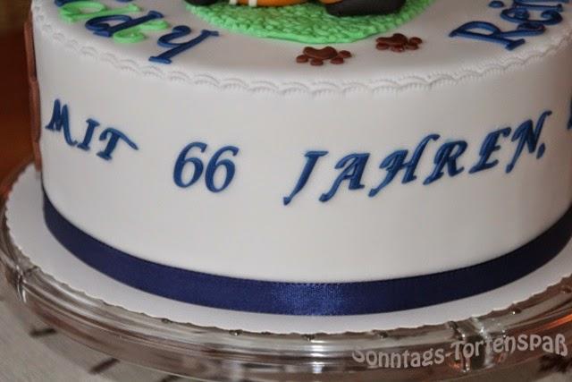 Torten zum 66 geburtstag
