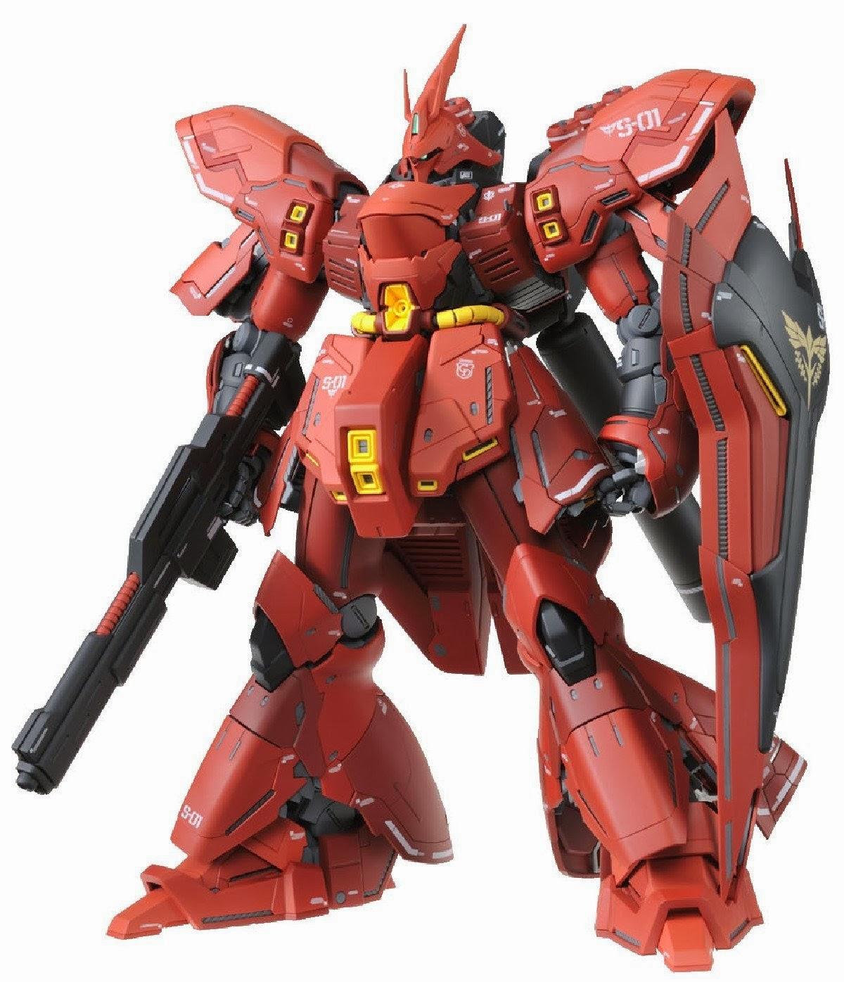Info: MG 1/100 Sazabi Ver. Ka Release Date - Gundam3R