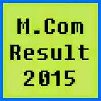 IUB MCom Result 2016