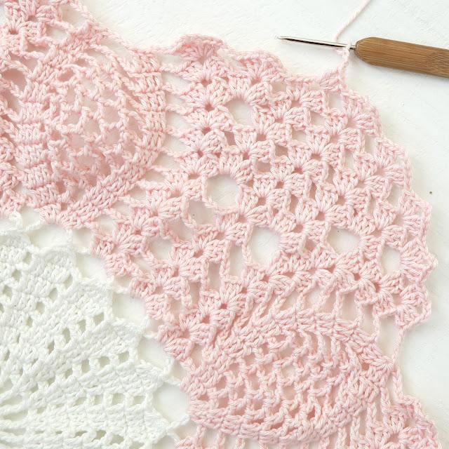 byHaafner, crochet, doily, mandala, pastel