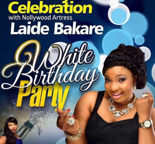 Colorful photos from Laide Bakare's All whte themed 35th birthday party in America