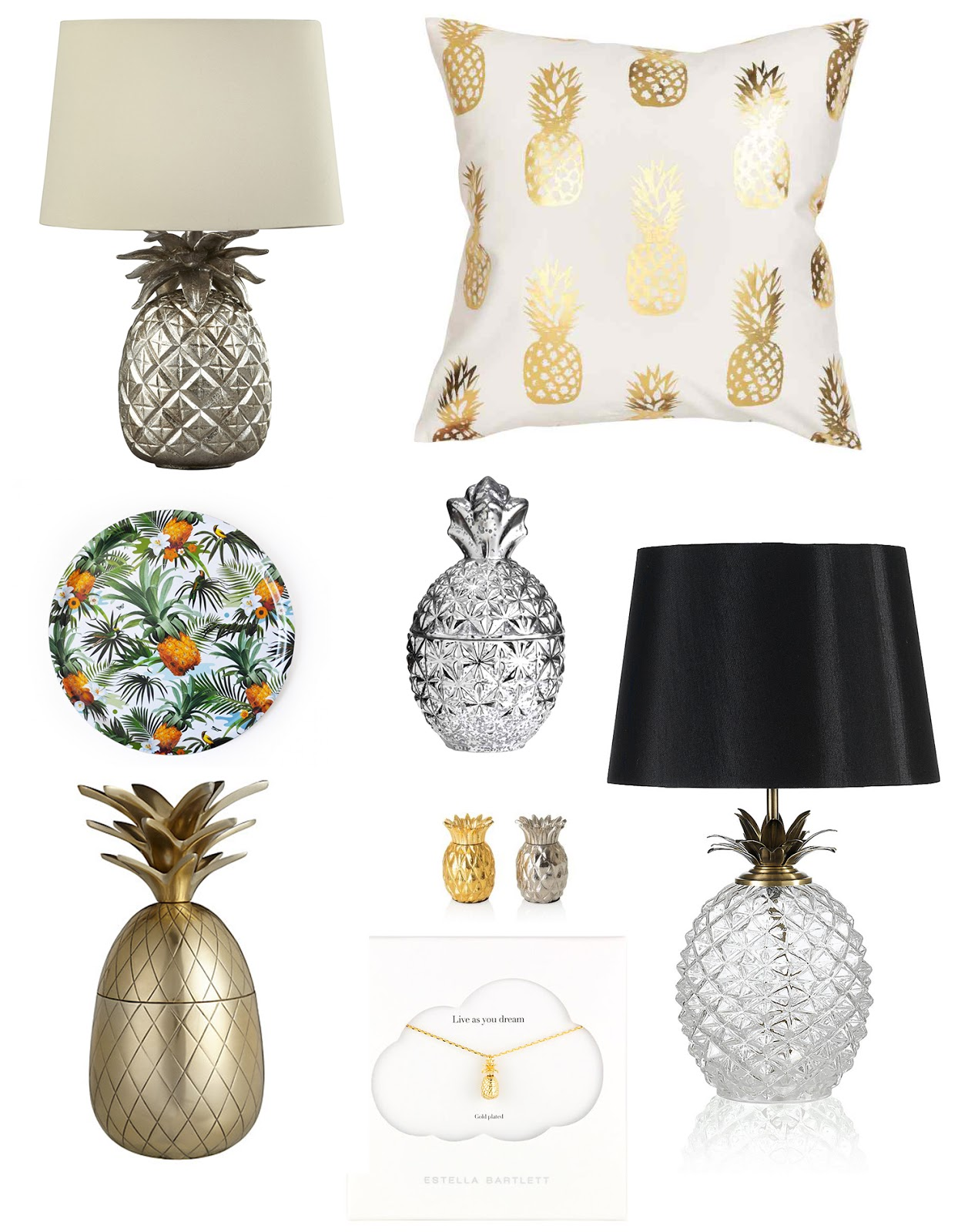 pineapple homewares