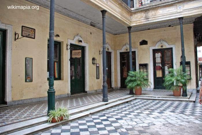 Patio de Casa de los Ezeiza en San Telmo