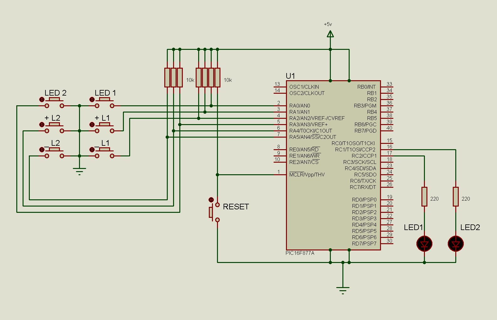 Profahmet Ccc 220 Volt Led Src Besleme Devresi Pic16f877 Dual Pwm Dimmer