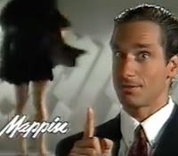 Propaganda de 1990 do Mappin e sua moda íntima apresentada pelo ator Victor Fasano.