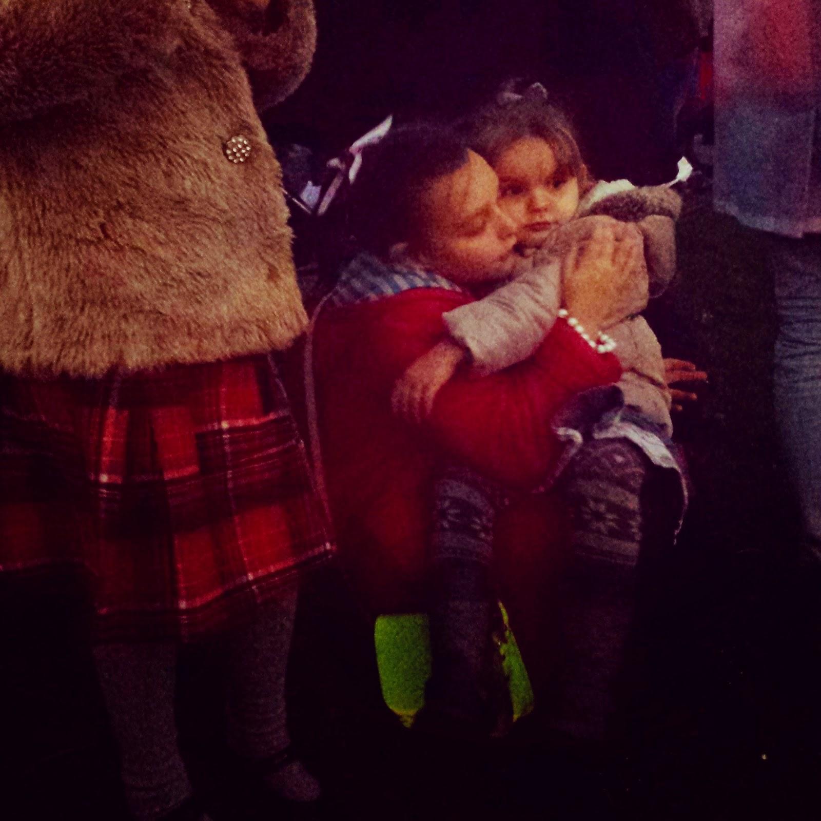 Christmas Eve 2014 cuddles