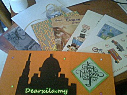 Cerita raya 2013, Hari raya aidilfitri, koleksi kad raya, Hari Raya 2013, kad raya buatan sendiri, DIY, DIY kad raya, kad raya kreatif