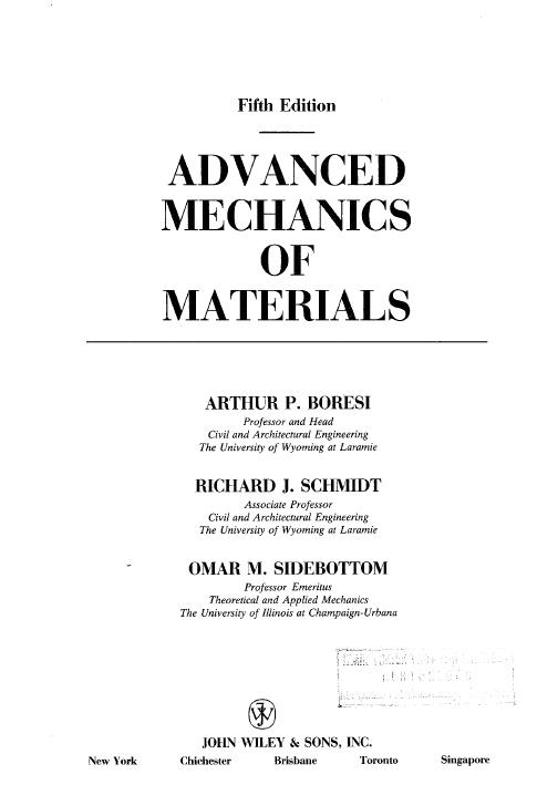 mechanics of materials pdf vtu