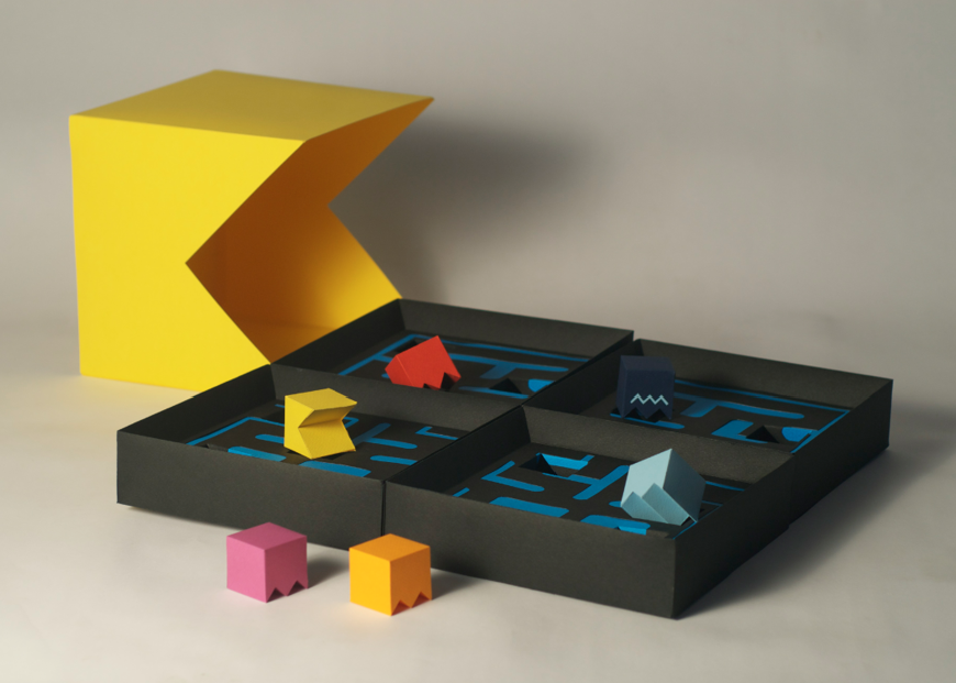Pacman Packaging Student Project On Of The World
