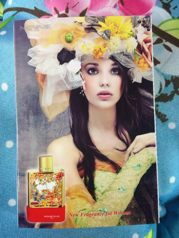 Novae Plus - Sweet Armour Parfum  - www.annitschkasblog.de