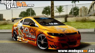 SA - Honda Civic SI Juiced Tuned Shinon Itasha