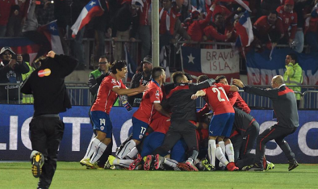 Chi, Chi, Chi! Le, Le, Le! Viva Chile!