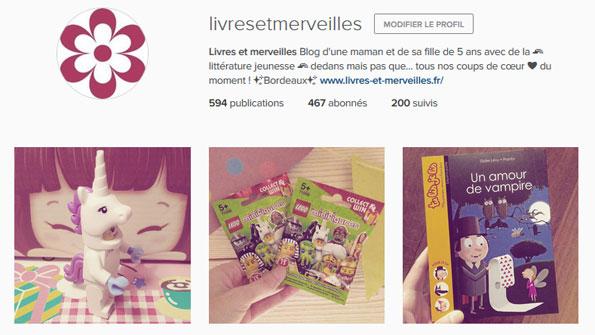 Livres et merveilles sur Instagram - Mois d'octobre