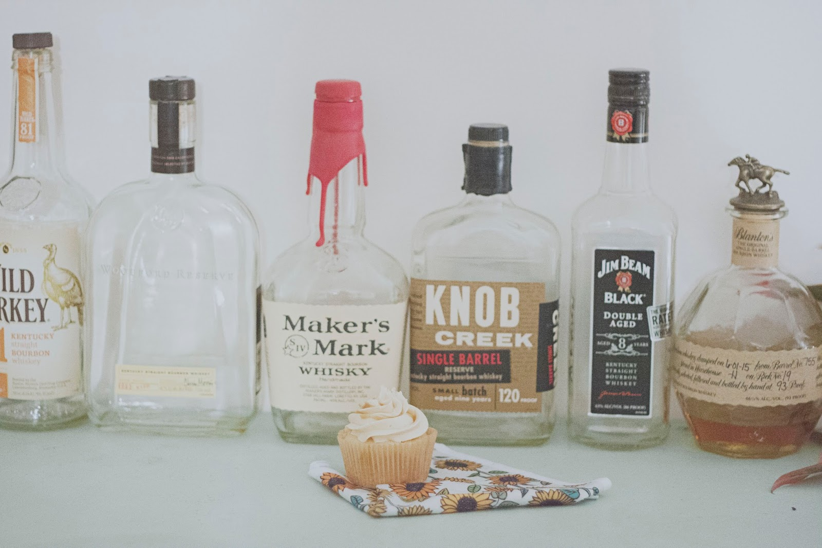Kentucky Bourbon Butterscotch Cupcakes