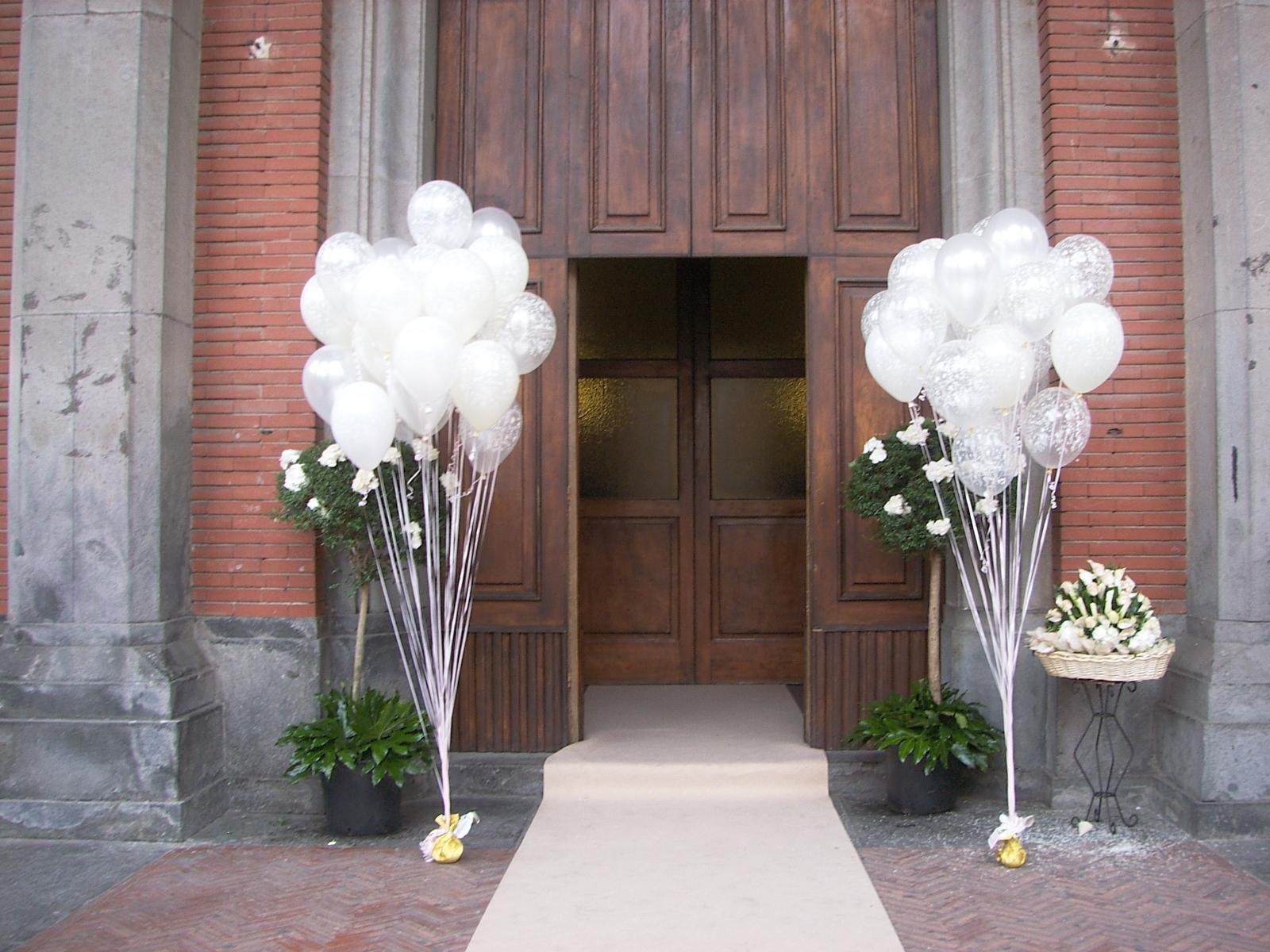 Consigli sul matrimonio addobbi con palloncini - Composizione palloncini da tavolo ...