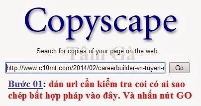 Copyscape Plagiarism Checker - Duplicate Content Detection Software