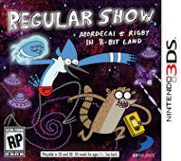 regular show mordecai & rigby in 8 bit land box art Regular Show: Mordecai & Rigby In 8 Bit Land (3DS)   Nintendo World Report Review