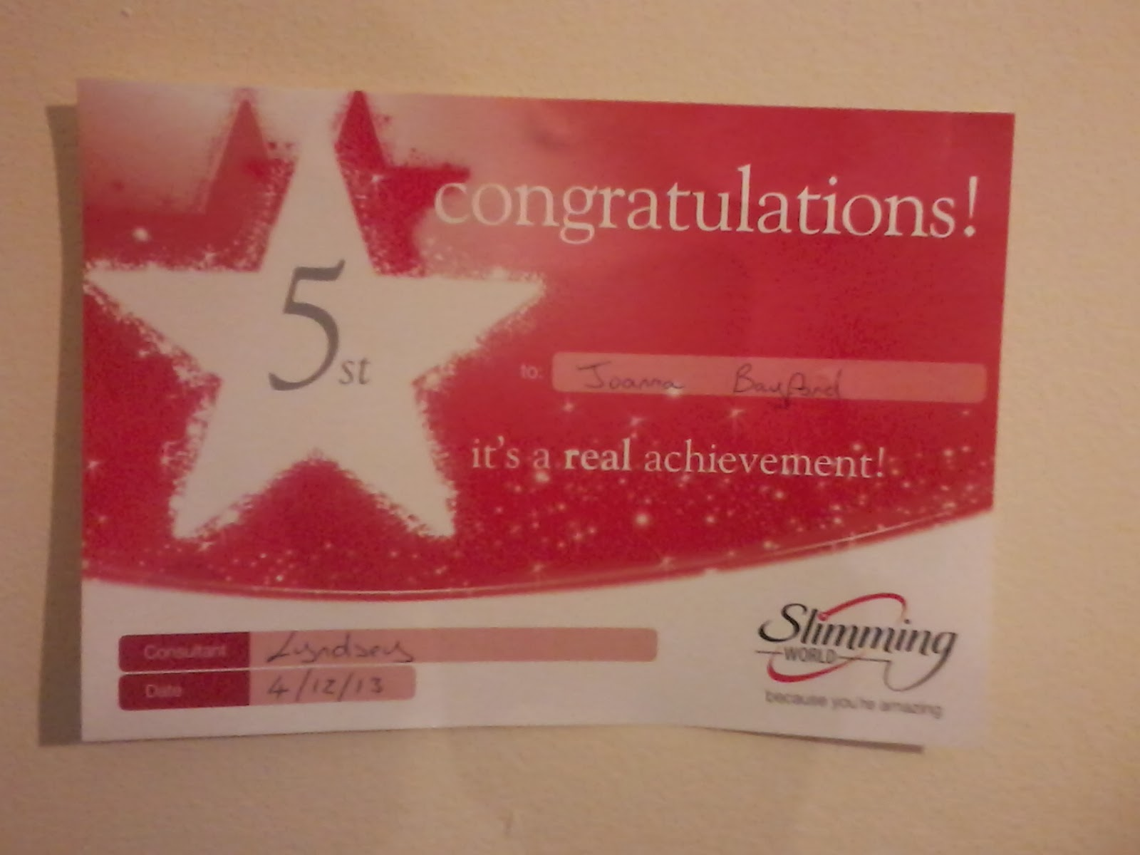 Slimming World An Update Joanna Victoria