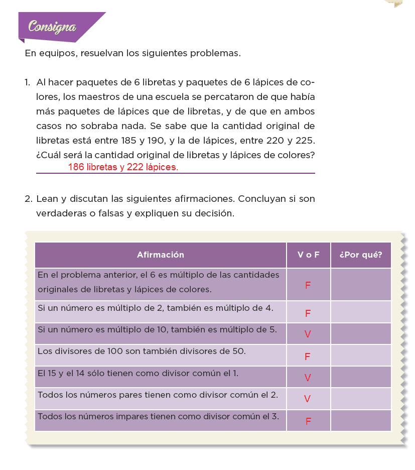 Respuestas Paquetes escolares - Desafíos matemáticos 6to Bloque 5to 2014-2015