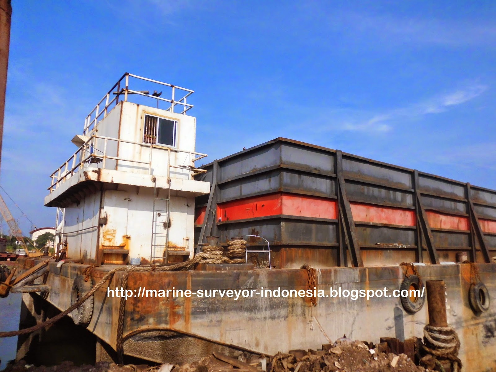 Condition Survey Barge KSD 10