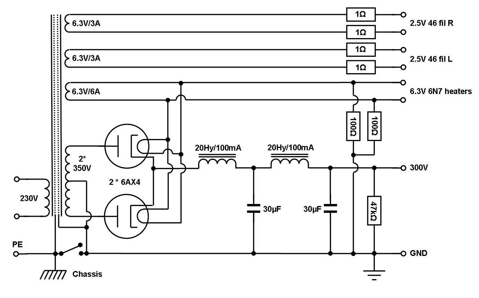 807 Tube Transmitter Schematic as well 1957 besides 813 Tube  lifier Schematic besides 46 Tube  lifier Schematic further Nmw2IDgwNyB0cmFuc21pdHRlcg. on arrl 807 tube transmitter schematic