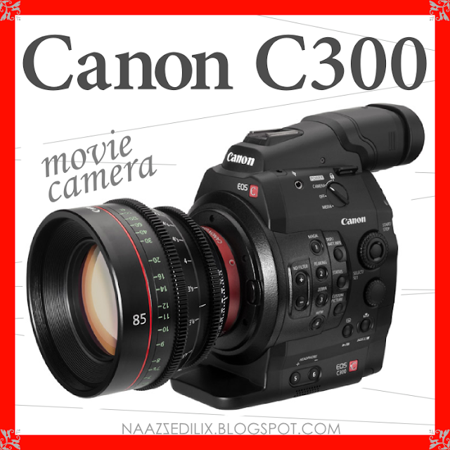 posterremakes canon c300 movie camera