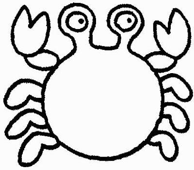 animais para pintar, animais para imprimir, animais,desenhos para imprimir, desenhos para pintar, carangueijo