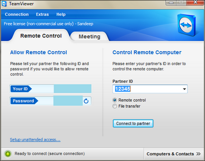 How to Use TeamViewer For a Remote Connection Between Two ...