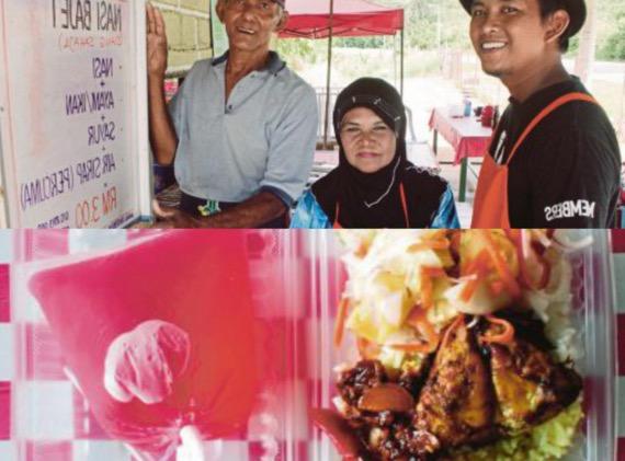 Nasi berlauk hanya RM3