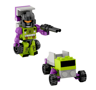 Hasbro Transformers Kre-O Micro Changers Series 2 - Long Haul (Constructicon)