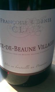Beautifully perfumed Burgundy.