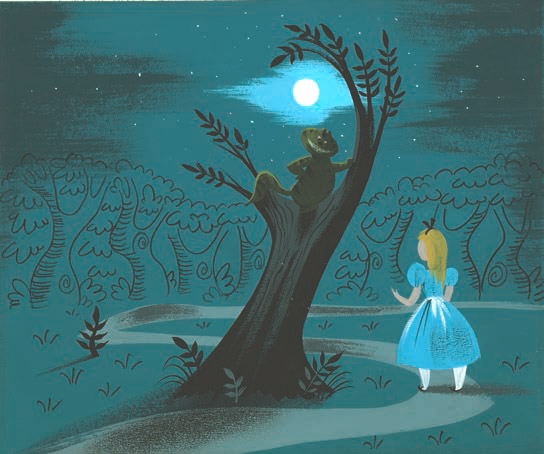 Mothic Flights And Flutterings, Concept art by Mary Blair ...
