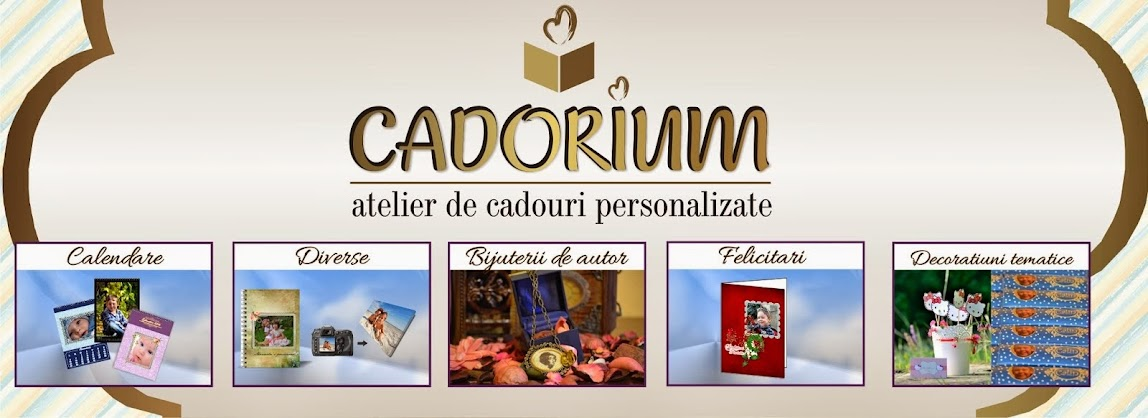 CADORIUM - Atelier de cadouri personalizate