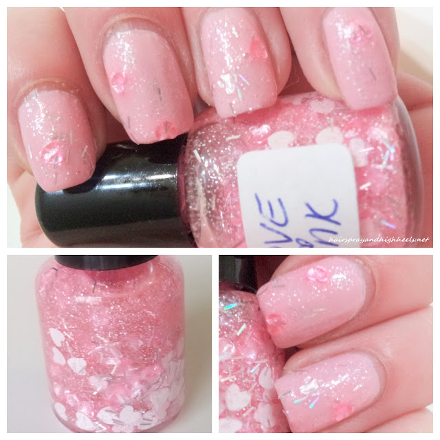 SickLacquers Love Pink franken polish