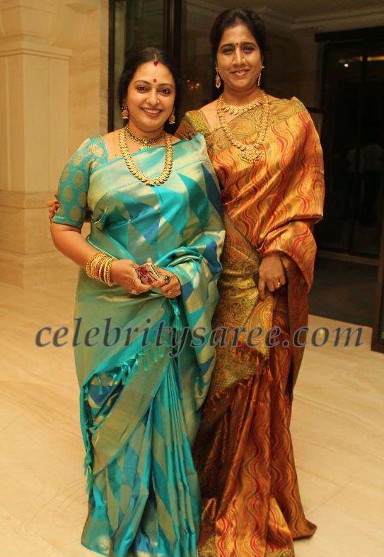 Seetha In Traditional Silk Sari Saree Blouse Patterns