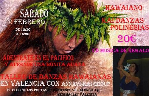 febrero 2013 danzas de la polinesia en valencia
