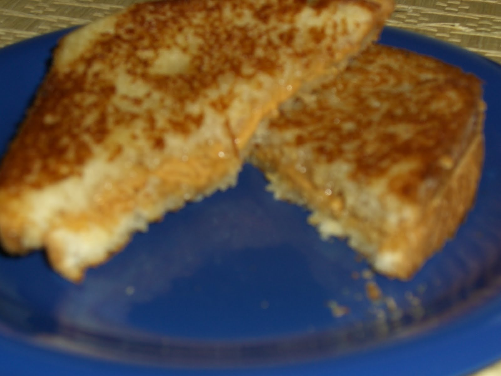 grilled peanut butter and honey sandwiches 